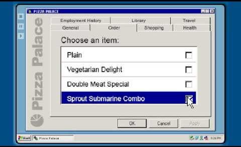 How to order a Pizza after Obamacare