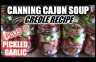 FOODporn.pl Canning Spicy Cajun Soup   Creole Recipe   How To Can Pickled Garlic