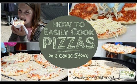 How to easily cook pizzas on a Cadac stove