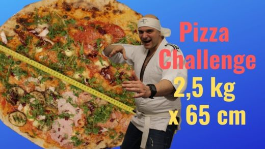 Pizza Gigante Challenge 2,5 kg per 65 cm Guinness World Record
