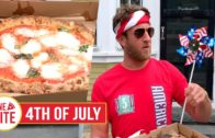 FOODporn.pl Barstool 4th of July Pizza Review – Pizzeria Gemelle (Nantucket) Presented by Truly Seltzer