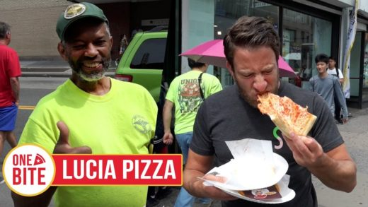 Barstool Pizza Review - Lucia (Flushing, NY) Bonus Jamaican Style Beef Patty