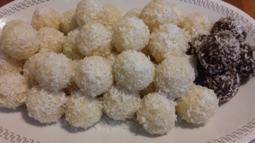 Bomboane Raffaello Super Reteta-Easy Raffaello Balls -How to make Raffaello balls homemade