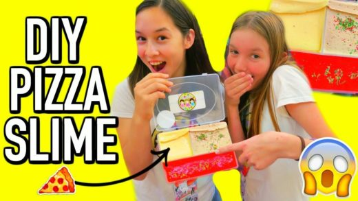 DIY PIZZA SLIME PALLET MAKE YOUR OWN PIZZA SLIME KIT!! (san fran slime co 2 vlog)