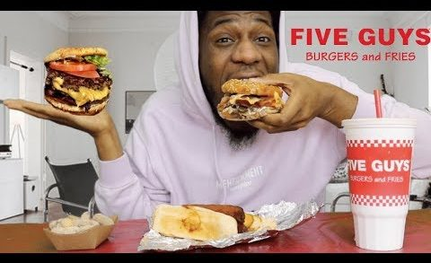 FIVE GUYS EATING SHOW + COLORISM IN AMERICA