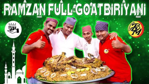 Ramzan Special | Full Goat Biryani | World Food Tube