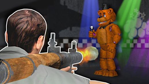 STUCK IN THE FNAF PIZZERIA! - Garry's Mod Gameplay - Gmod Five Nights At Freddy's Survival