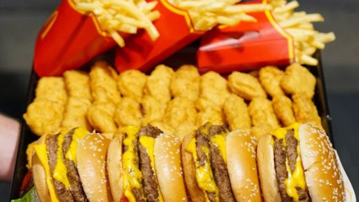 Who would you smash this with? - This is the sort of maccas spread I'll be having on the weekend - what about you? -  and I ordered this and were still hungry after ...