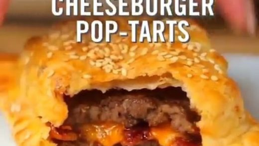 BURGER POP TARTS!!!   by @twisted!...