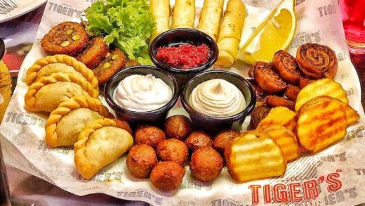 Classic Appetizers combo . . . .                              ...