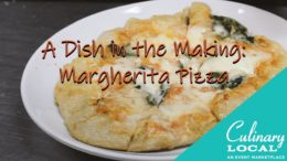 A Dish in the Making: Margherita Pizza at City Winery