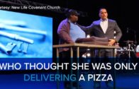 FOODporn.pl A Woman is Surprised When She Delivers a Pizza to a Church