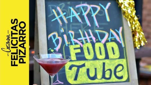 Argentinian Toast to Food Tube's 1st Year! | Felicitas Pizarro