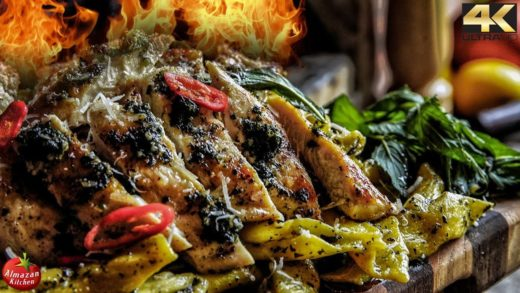 BEST PESTO CHICKEN PASTA - EXTREMELY TASTY!!!