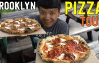 FOODporn.pl BEST Pizzas in NEW YORK! New York Pizza Tour of BROOKLYN
