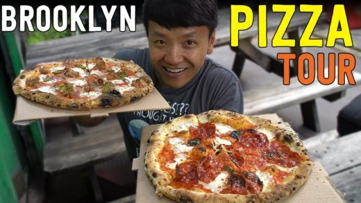 BEST Pizzas in NEW YORK! New York Pizza Tour of BROOKLYN