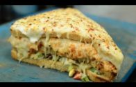 FOODporn.pl BIG TRIPLE LAYER Melting Cheese Sandwich | UNLIMITED CHEESE Pasta | Indian Street Food