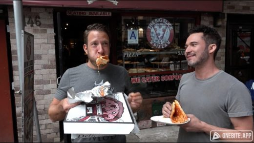 Barstool Pizza Review - Big Slice Pizza With Special Guest Justin Willman (Bonus Magic Trick)