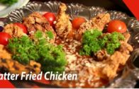 FOODporn.pl Batter fried chicken with brown sauce | Mallika Joseph Food Tube