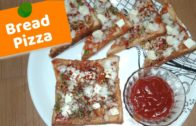 FOODporn.pl Bread pizza recipe in hindi | Instant pizza recipe | pizza recipe for kids | 2 min tava bread pizza