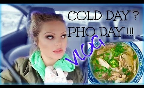 COLD DAY ? PHO DAY !!! COOKING PHO SOUP