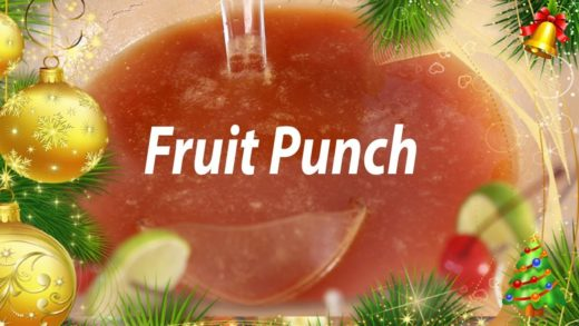 Chill Fruit Punch | Mallika Joseph Food Tube