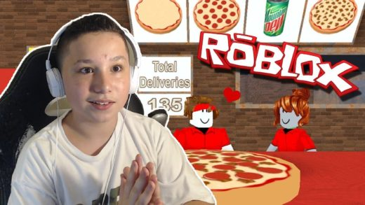 Delivering Pizzas! | Roblox Pizza Place