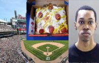 FOODporn.pl Detroit Tigers Food Worker Fired & Arrested For Spitting In Customer Pizza.