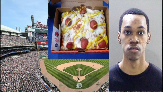 Detroit Tigers Food Worker Fired & Arrested For Spitting In Customer Pizza.