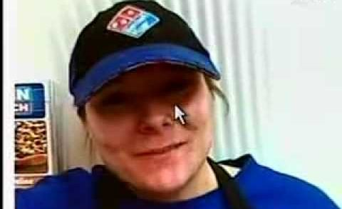 Dirty Dirty Dominos pizza
