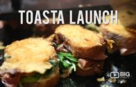 FOODporn.pl Events | TOASTA Launch | #FOODPORN | Cheese Toastie | Big Review TV