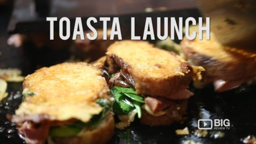 Events   TOASTA Launch   #FOODPORN   Cheese Toastie   Big Review TV