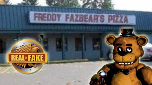 FREDDY FAZBEAR'S PIZZA PLACE - real or fake?