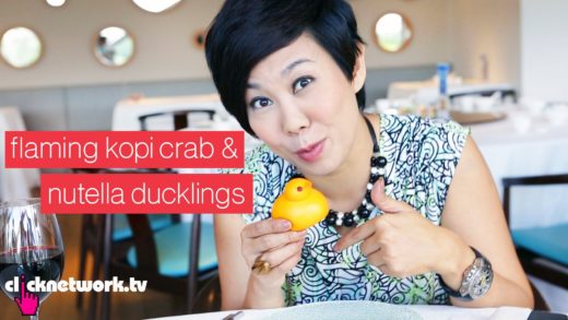 Flaming Kopi Crab and Nutella Ducklings - Foodporn: EP1