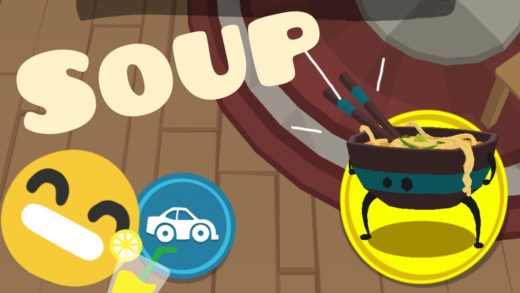 Game Silly Walks- Soup/Zupa