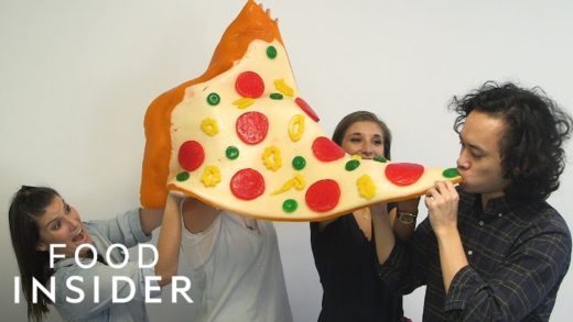 Giant Gummy Pizza Weighs 225 Pounds