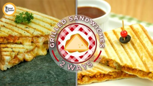 Grilled Sandwiches 2 ways Recipes by food fusion