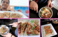 FOODporn.pl INDIAN STYLE BREAD PIZZA RECIPE||RAMA SWEET HOME