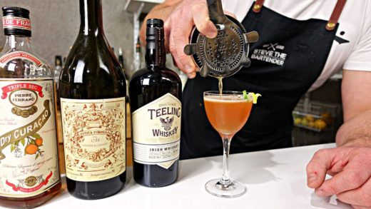 Irish Derby Cocktail Recipe - Dry, Tarty and Citrusy