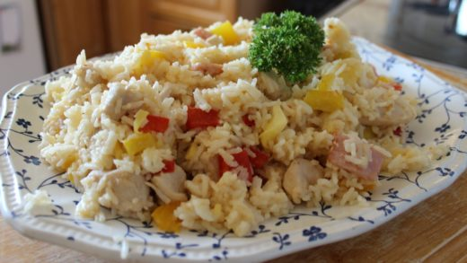 Jamie Oliver's Search For A Food Tube Star - Chlo's Tangy, Aromatic Chicken & Rice - ChloeHasFood