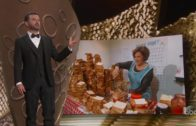 FOODporn.pl Jimmy Kimmel's Mom Makes PB&J for Emmys Audience