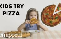 FOODporn.pl Kids Try 10 Styles of Pizza from Around the World | Bon Appétit