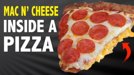 MAC N' CHEESE INSIDE A PIZZA - VERSUS