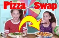 FOODporn.pl Mystery Wheel of Pizza SWITCH UP! (Madison vs Olivia)