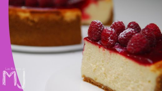 NEW YORK CHEESECAKE CON FRAMBUESAS | Tarta de queso