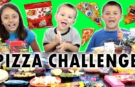 FOODporn.pl PIZZA CHALLENGE w/ Tabasco Hot Sauce Jelly Beans | FUNnel Vision Family Fun