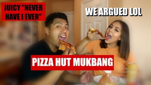 PIZZA MUKBANG / Juicy Never Have I Ever