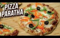 FOODporn.pl Pizza Paratha Recipe – How To Make Veg Cheese Pizza Paratha – Easy Snack Recipe – Ruchi