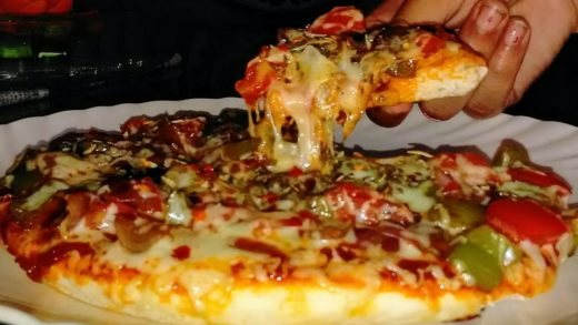 Pizza Recipe on Pan -Dominos Style pizza-Tawa Pizza Without Oven -Pizza Recipe
