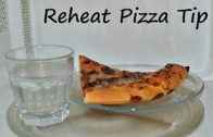FOODporn.pl Pizza Reheat Microwave Tip. How to Get Crispy Crust on Leftover Pizza in 30 Secs by Chawla's Kitchen